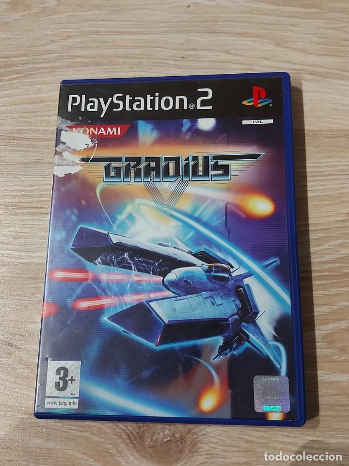 PS2 PLAY STATION 2 GRADIUS V 5 PAL ESPAÑA (Juguetes - Videojuegos y Consolas - Sony - PS2)