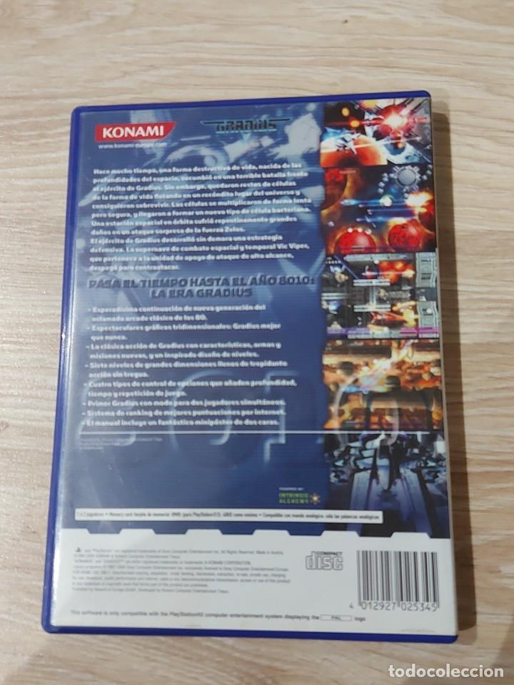 Videojuegos y Consolas: PS2 PLAY STATION 2 GRADIUS V 5 PAL ESPAÑA - Foto 2 - 218794961