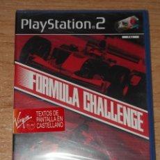 Videojuegos y Consolas: FORMULA CHALLENGE DE PS2 PAL ESPAÑA NUEVO PRECINTADO. Lote 218832986