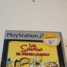 Videojuegos y Consolas: C-6 JUEGO ORIGINAL - LOS SIMPSON EN VIDEOJUEGO - PLAYSTATION PS2. Lote 219016722