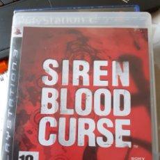 Videojuegos y Consolas: SIREN BLOOD CURSE PS3. Lote 219188141