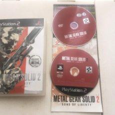 Videogiochi e Consoli: METAL GEAR SOLID 2 SONS OF LIBERTY DVD EXTRA PS2 PLAYSTATION 2 PLAY STATION TWO KREATEN. Lote 219317355