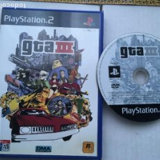 Videojogos e Consolas: GTA III GRAND THEFT AUTO 3 PS2 PLAYSTATION 2 PLAY STATION TWO KREATEN. Lote 219762045