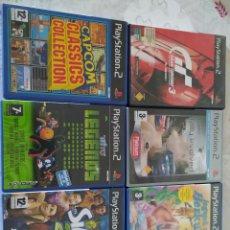 Jeux Vidéo et Consoles: LOTE 6 JUEGOS PLAY2. Lote 220275322