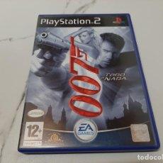 Videojuegos y Consolas: 007 TODO O NADA PS2. Lote 220781001