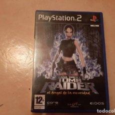 Videojuegos y Consolas: TOMB RAIDER EL ANGEL DE LA OSCURIDAD PS2. Lote 220785135