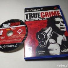 Videojuegos y Consolas: TRUE CRIME STREET OF LA ( PLAYSTATION 2 - PAL - ESPAÑA). Lote 220981508