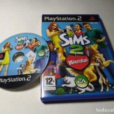 Videojuegos y Consolas: LOS SIMS 2 - MASCOTAS ( PLAYSTATION 2 - PS2 - PAL - ESP). Lote 220987113
