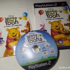 Videojuegos y Consolas: WINNIE THE POOH - LA FIESTA DE CUMPLEAÑOS ( PLAYSTATION 2 - PS2 - PAL - ESP). Lote 221159077