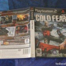 Videogiochi e Consoli: JUEGO PLAYSTATION 2 COLD FEAR- CAJA Y MANUAL NO HAY DISCO. Lote 221369423