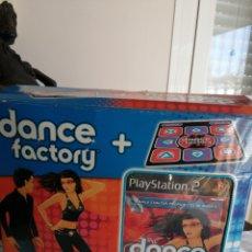 Videojuegos y Consolas: JUEGO MÁS ALFOMBRA DANCE FACTORY COMPLETO. Lote 221511370