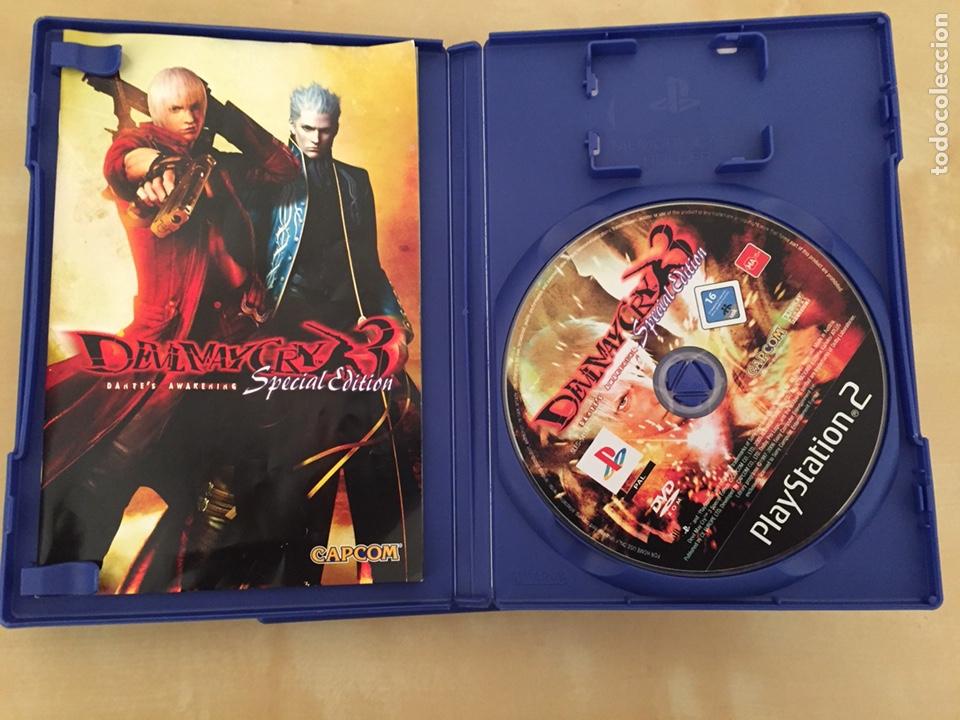 Videojuegos y Consolas: Devil may cry 2 y 3 (special edition) - pal españa - completo ps2 lote - Foto 7 - 221517503