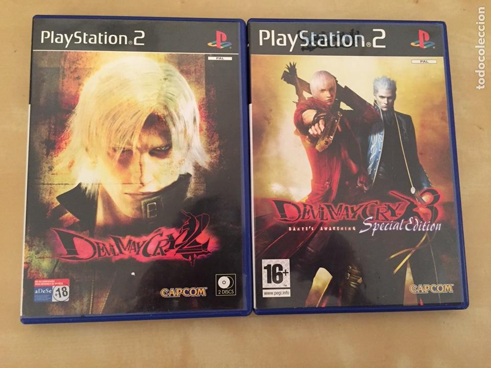 DEVIL MAY CRY 2 Y 3 (SPECIAL EDITION) - PAL ESPAÑA - COMPLETO PS2 LOTE (Juguetes - Videojuegos y Consolas - Sony - PS2)