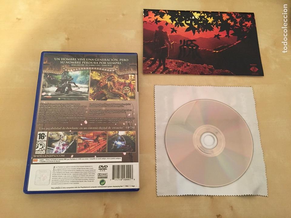 Videojuegos y Consolas: Genji - Pal españa - completo - ps2 - Foto 2 - 221517746