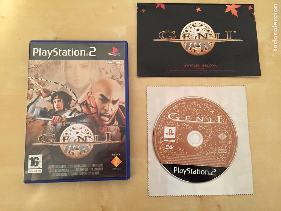 GENJI - PAL ESPAÑA - COMPLETO - PS2 (Juguetes - Videojuegos y Consolas - Sony - PS2)
