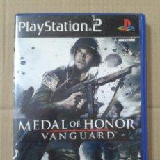Videojuegos y Consolas: MEDAL OF HONOR VANGUARD. PS2 *LEER DESCRIPCION. Lote 221769550