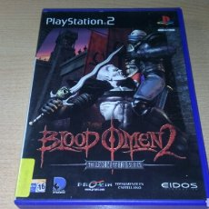 Videojuegos y Consolas: BLOOD OMEN 2 PAL ESP COMPLETO PS2 THE LEGACY OF KAIN SERIES. Lote 221776321