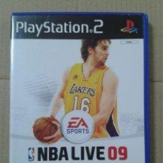 Videojuegos y Consolas: NBA LIVE 09. PS2 *LEER DESCRIPCION. Lote 221776812