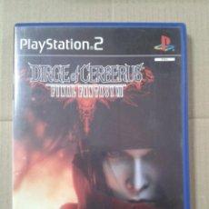 Videojuegos y Consolas: DIRGE OF CERBERUS FINAL FANTASY VII. PS2 *LEER DESCRIPCION. Lote 221779041
