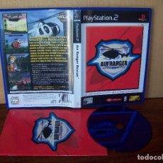 Videojuegos y Consolas: AIR RANGER RESCUE HELICOPTER - PLAYSTATION 2 PAL ESPAÑA CD COMO NUEVO. Lote 221779226