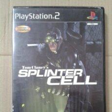 Videojuegos y Consolas: TOM CLANCY'S SPLINTER CELL. PS2 *LEER DESCRIPCION. Lote 221779308