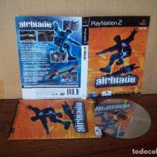 Videojuegos y Consolas: AIRBLADE - PLAYSTATION 2 PAL ESPAÑA - CARPETA ESTROPEADA -. Lote 221779498
