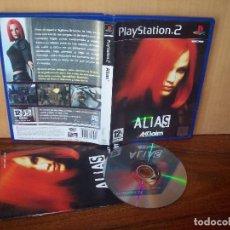 Videojuegos y Consolas: ALIAS - PLAYSTATION 2 PAL ESPAÑA COMPLETO CD COMO NUEVO. Lote 221780221