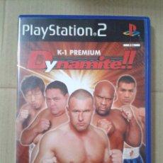 Videojuegos y Consolas: DYNAMITE. K-1 PREMIUM. PS2 *LEER DESCRIPCION. Lote 221780447