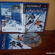 Videojuegos y Consolas: ALPINE SKI RACING 2007 - PLAYSTATION 2 PAL ESPAÑA CD COMO NUEVO. Lote 221780543