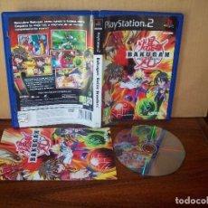 Videojuegos y Consolas: BAKUGAN -BATTLE BRAWLERS - PLAYSTATION 2 PAL ESPAÑA COMPLETO - JUEGO CD COMO NUEVO. Lote 221806781