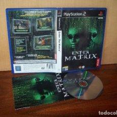 Videojuegos y Consolas: ENTER THE MATRIX - PLAYSTATION 2 PAL ESPAÑA COMPLETO - CD JUEGO COMO NUEVO. Lote 262548560