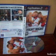 Videojuegos y Consolas: FIGHT NIGHT ROUND 3 EA SPORTS - PLAYSTATION 2 PAL ESPAÑA COMPLETO - CD EN BUEN ESTADO. Lote 268913049