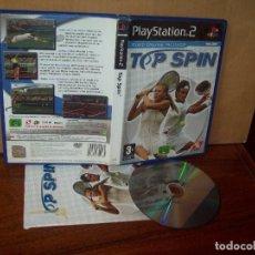Videojuegos y Consolas: TOP SPIN - PLAYSTATION 2 PAL ESPAÑA COMPLETO. Lote 222199692