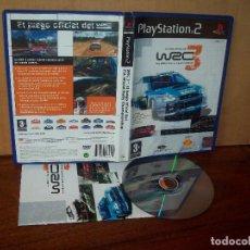 Videojuegos y Consolas: WRC 3 FIA WORLD RALLY CHAMPIONSHIP - PLAYSTATION 2 - PAL ESPAÑA COMPLETO - JUEGO COMO NUEVO. Lote 222215940
