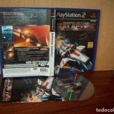 Videojuegos y Consolas: BATTLESTAR GALACTICA - PLAYSTATION 2 PAL ESPAÑA COMPLETO - JUEGO COMO NUEVO. Lote 222216065