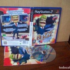 Videojuegos y Consolas: BUZZ : EL GRAN RETO - PLAYSTATION 2 PAL ESPAÑA COMPLETO - JUEGO COMO NUEVO. Lote 222216300