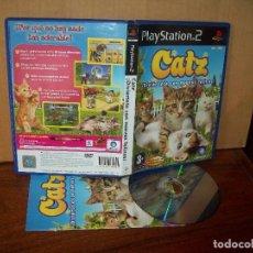 Videojuegos y Consolas: CATZ DIVIERTETE CON NUEVOS FELINOS - PLAYSTATION 2 PAL ESPAÑA COMPLETO. Lote 222216521
