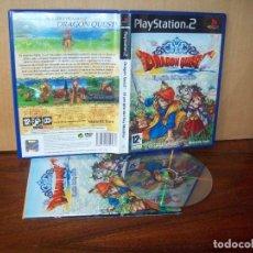 Videojuegos y Consolas: DRAGON QUEST - EL PERIPLO DEL REY MALDITO - PLAYSTATION 2 PAL JUEGO COMO NUEVO COMPLETO. Lote 222217455