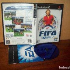 Videojuegos y Consolas: FIFA 2001 - PLAYSTATION 2 - PAL ESPAÑA COMPLETO. Lote 222217623
