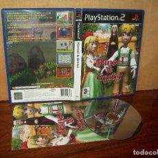 Videojuegos y Consolas: HANSEL & GRETEL - PLAYSTATION 2 PAL ESPAÑA COMPLETO - JUEGO COMO NUEVO. Lote 222217941