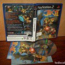 Videojuegos y Consolas: JAK II EL RENEGADO - PLAYSTATION 2 PAL ESPAÑA COMPLETO. Lote 222218085