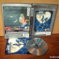 Videojuegos y Consolas: KINGDOM HEARTS - PLAYSTATION 2 PLATINUM PAL ESPAÑA COMPLETO - JUEGO COMO NUEVO. Lote 222218201