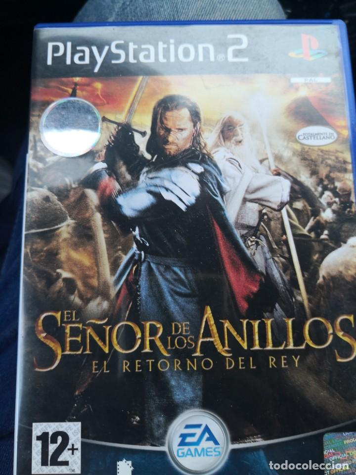 El Señor De Los Anillos El Retorno Del Rey Ps2 Sold At Auction 222256948
