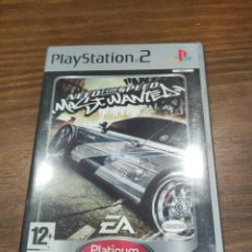 Videojuegos y Consolas: NEED FOR SPEED MOST WANTED + MANUAL - PS2 PAL - PERFECTO ESTADO. Lote 222297191