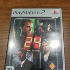 Videojuegos y Consolas: 24 THE GAME - PS2 PAL - PERFECTO ESTADO. Lote 222297228