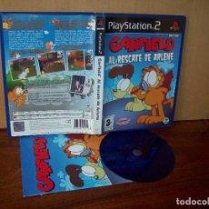 Videojuegos y Consolas: GARDFIELD AL RESCATE DE RLENE - PLAYSTATION 2 PAL ESPAÑA COMPLETO. Lote 222309222