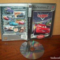 Videojuegos y Consolas: DISNEY PIXARS CARS - PLAYSTATION 2 PLATINUM SIN LIBRO DE INSTRUCCIONES PAL. Lote 222309302