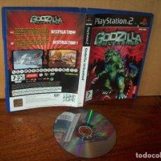 Videojuegos y Consolas: GODZILLA UNLEASHED - PLAYSTATION 2 SIN LIBRO DE INSTRUCCIONES PAL ESPAÑA. Lote 222309382