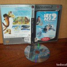Videojuegos y Consolas: ICE AGE 2 EL DESHIELO - PLAYSTATION 2 PLATINUM SIN LIBRO DE INSTRUCCIONES PAL ESPAÑA. Lote 222310907