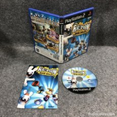 Videojuegos y Consolas: RAYMAN RAVING RABBIDS SONY PLAYSTATION 2 PS2. Lote 222345573